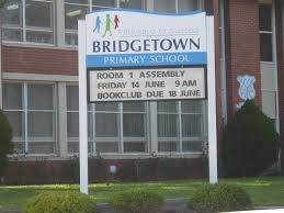 bridgetown primary message board sign danthonia designs au
