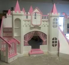 Castle Bunk Beds For Girls by Castle Bed Bedroom Furniture Ebay