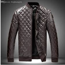buy biker jacket 2018 fall m 6xl new men s leather jacket men leather jaqueta couro