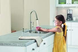 no touch kitchen faucet idea gallery page 1 the bath barn