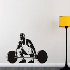 online get cheap vinyl sports quotes aliexpress alibaba group wall stickers athletes weightlifting home decor removable vinyl decals quotes sports gym stuido decoration