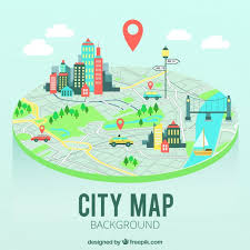 city map city map background vector free
