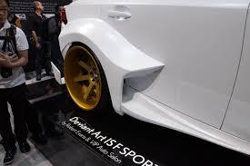 lexus is350 f sport kw 2013 sema lexus is350 f sport deviantart rear fender forcegt com