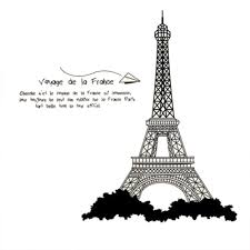 decal picture more detailed about new diy tour eiffel new diy tour eiffel tower removable wall sticker vinyl decals for kids room boys