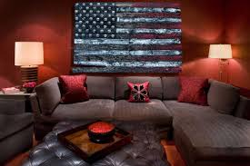 American Flag Home Decor 3d American Flag Limited Edition Grunge Version Weathered Wood