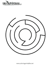 easy maze coloring pages google search maze pattern shhh
