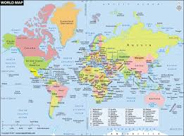 Map Of The World Countries World Map