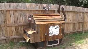 Small Backyard Chicken Coops by Diy Rustic Steampunk Chicken Coop Youtube
