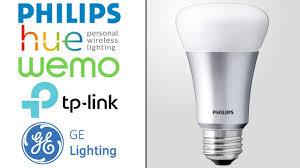 best smart home lighting philips hue tp link wemo wink u0026 more