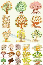 drawn tree creative pencil and in color drawn tree creative