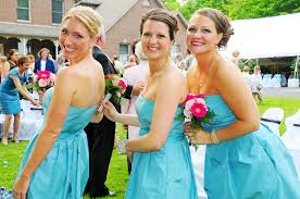 robin egg blue bridesmaid dresses help with bouquet colors for black and blue dresses
