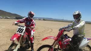 new motocross bikes first time on new dirt bike youtube