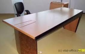 Schreibtisch 2m Lang Schreibtisch Circon Face Basistisch Mit Auflage Vital Office