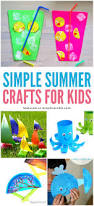 simple summer crafts for kids easy fun and cheap crafts for
