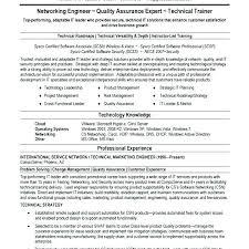 network engineer resume network engineer resume sle luxsos me