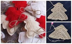free knitting pattern christmas tree dishcloth crochet christmas tree ornament free pattern tutorial