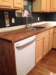 butcher block counter tops edge grain teak wood countertop image butcher block countertop in kitchen