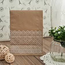 discount wedding favors discount vintage lace wedding favors paper bags with seals ewfb087