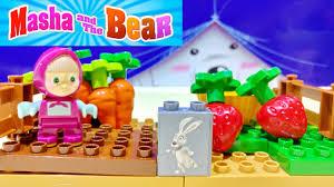 masha bear masha medved playbig bloxx masha u0027s garden