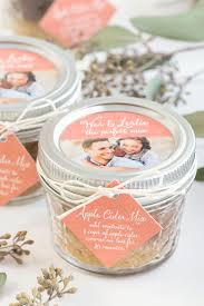 affordable wedding favors fall wedding favor apple cider mix wedding favors cheap