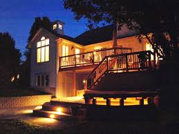 deck stair lights house exterior and interior awesome stair lighting