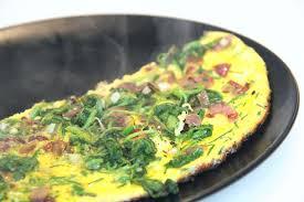 cuisiner feuilles de radis omelette aux fanes de radis et mozzarella not parisienne