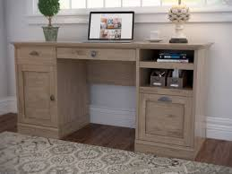 Computer Desk With Hutch Beachcrest Home Bowerbank Executive Desk With File U0026 Reviews Wayfair