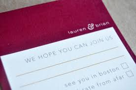 paper relish wedding invitations beantown chic