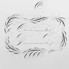 29 best flourishes images on penmanship calligraphy
