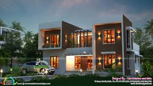 Kerala Home Design Kottayam Stunning Box Type Home Homes Design Plans