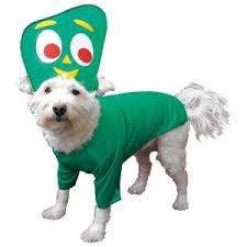 Gumby Pokey Halloween Costumes Gumby Dog Costume 22 Featured Fab Animals