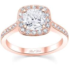 gold engagement ring settings halo pave engagement ring square setting