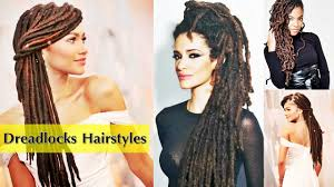 latest dreadlocks hairstyles for afro u0026 american womens 2017 youtube