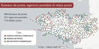 trouver bureau de poste liste des points de contact du réseau postal français horaires