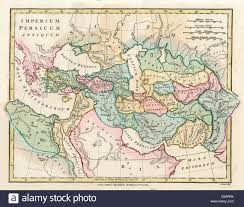 Ancient Map Of Greece by Map Of The Ancient Persian Empire Encompassing Greece To The