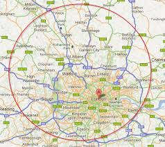 map of areas and surrounding areas map of and surrounding areas major tourist