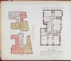 10 elaborate floor plans from pre world war i new york city