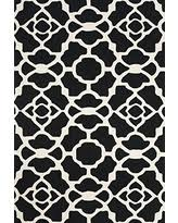 new deals on black and white area rugs