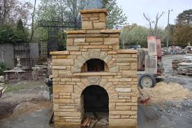 outdoor fireplace kits with pizza oven outdoor furniture design