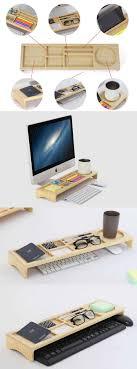 telephone stand desk organizer wooden stationery office desk organizer phone stand holder pen