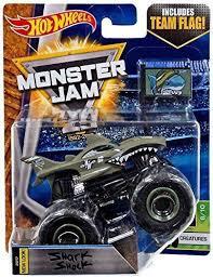 buy wheels monster jam trucks wheels monster jam truck shark shock 2017