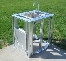 outdoor kitchen faucet outdoor kitchen plans kitchens sink faucets intunition com