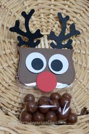 reindeer handmade maltesers bag christmas crafts