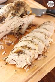 easy cooker herbed butter turkey breast a kitchen addiction