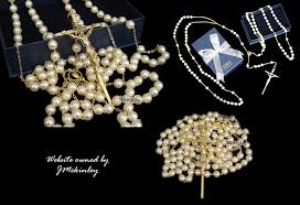 wedding lasso rosary gold pearl lazo jpg