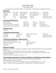 Medical Doctor Resume Example Mbbs Doctor Cv Sample Eliolera Com