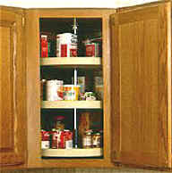 Lazy Susan For Corner Kitchen Cabinet Full Circle Lazy Susans From Kitchen Shelves Accessories