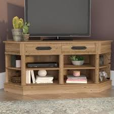 Unfinished Tv Armoire Corner Tv Stands You U0027ll Love