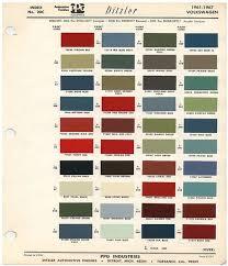vw paint colors ideas 1973 volkswagen dupont color paint chip
