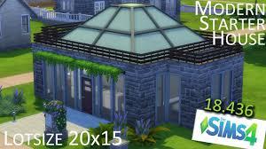 open glass starter house the sims letsbuild 47 youtube